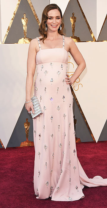 Emily Blunt in Prada- 2016 Oscars Red Carpet- Best Dressed by The He Said She Said Experience