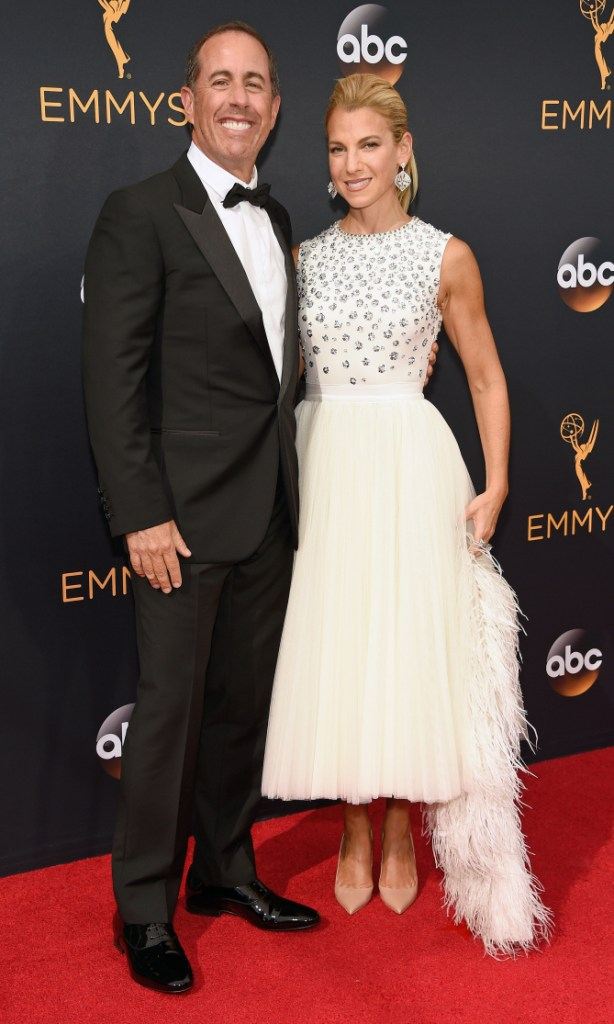 Jessica Seinfeld in Dior- 2016 Emmy Awards Best Dressed by The He Said She Said Experience