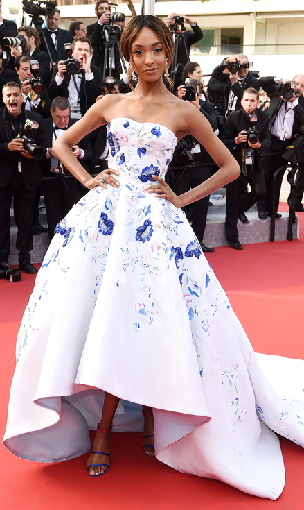 Jourdan Dunn in Ralph & Russo Couture - Best Dressed 2016 Cannes Film Festival by The He Said She Said Experience