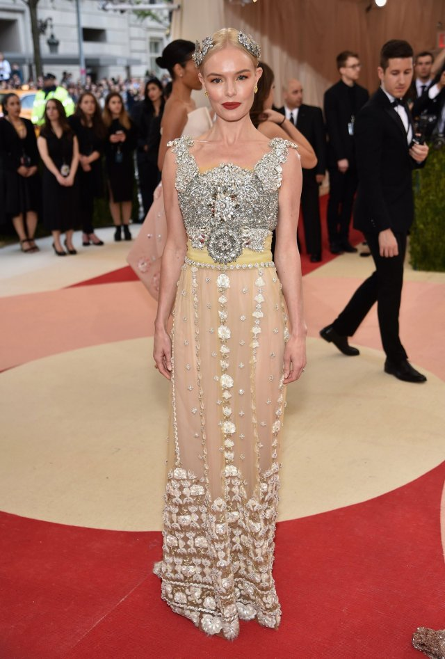 Kate Bosworth in Dolce & Gabanna : Best-Dressed 2016 Met Gala by The He Said She Said Experience