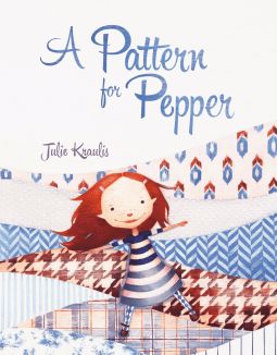 NetGalley Reads April 2017 - A Pattern for Pepper by Julie Kraulis