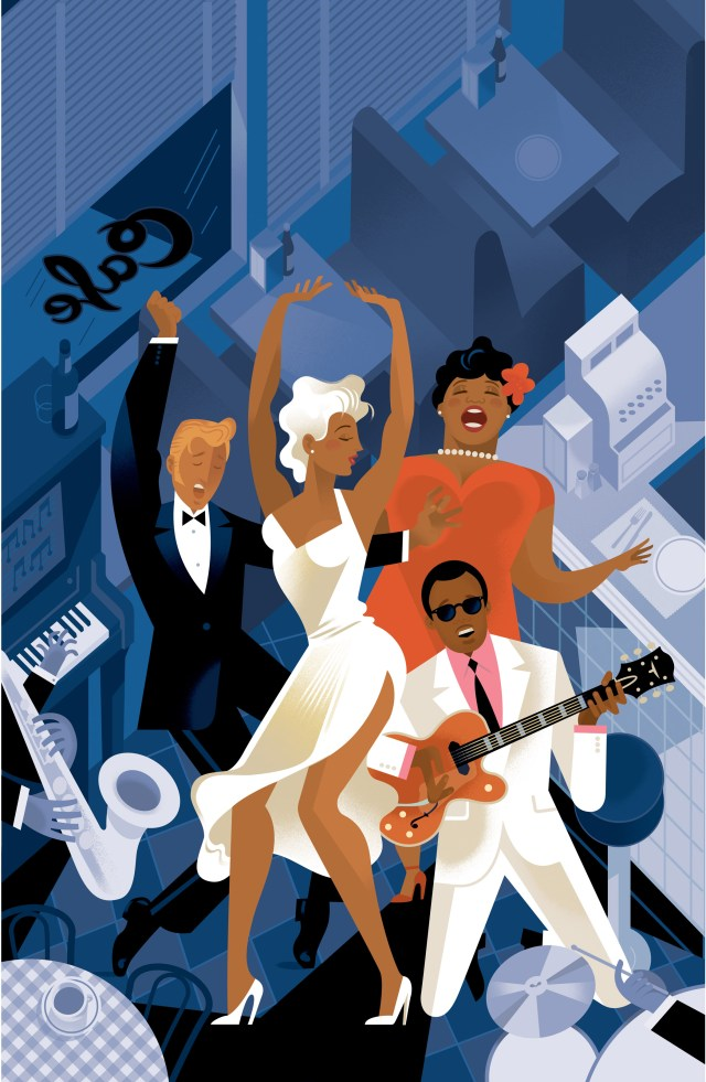 Print- Smokey Joe's Cafe- Arena Stage- The He Said She Said Experience