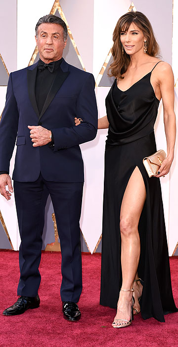 Sylvester Stallone- 2016 Oscars Red Carpet- Best Dressed by The He Said She Said Experience