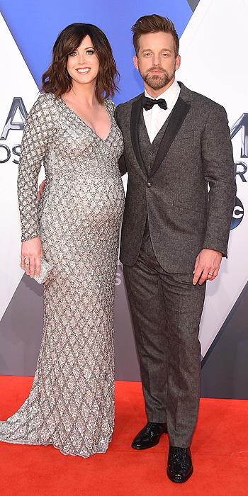 Shawna Thompson and Keifer Thompson of Thomson Square- 2015 CMA Awards Best Dressed by The He Said She Said Experience