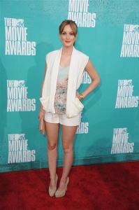 Leighton Meester 2012 MTV movie awards
