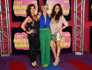The McClymonts 2012 CMT awards