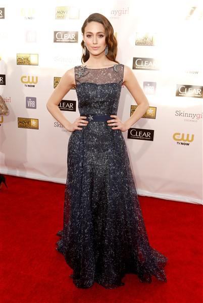 emmy rossum 2013 critics' choice movie awards