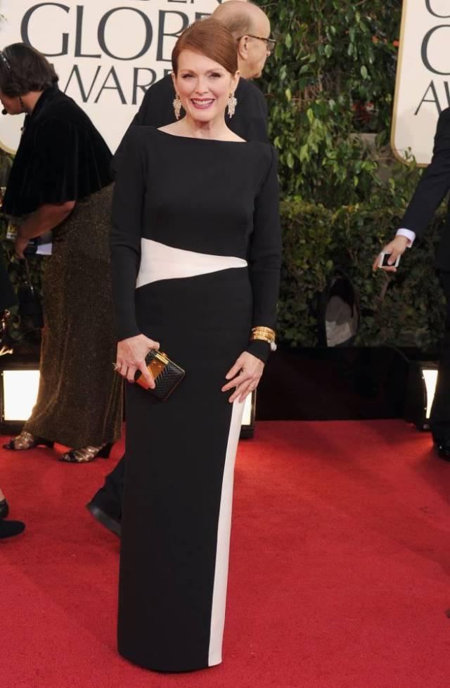 Julianne Moore 2013 Golden Globes