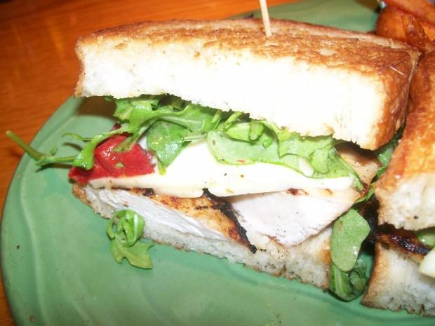 Sweetwater Tavern's Grilled Chicken & Havarti Cheese Sandwich