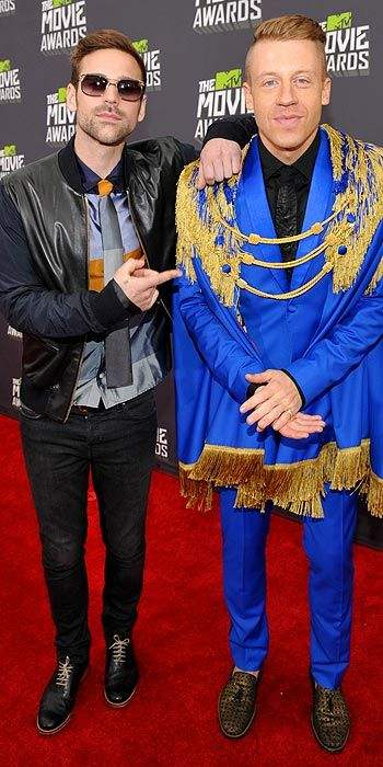 ryan lewis and macklemore 2013 mtv movie awards