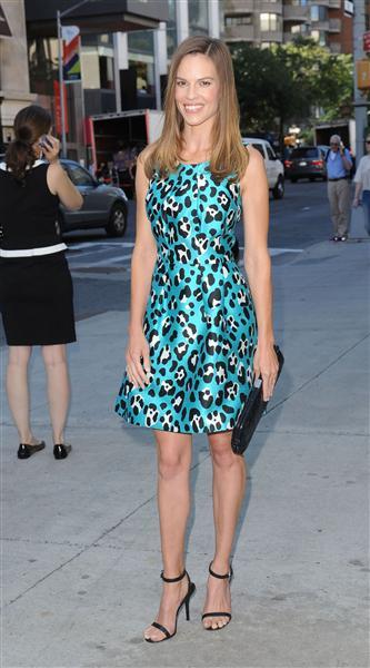 Hilary swank fashion week spring 2014