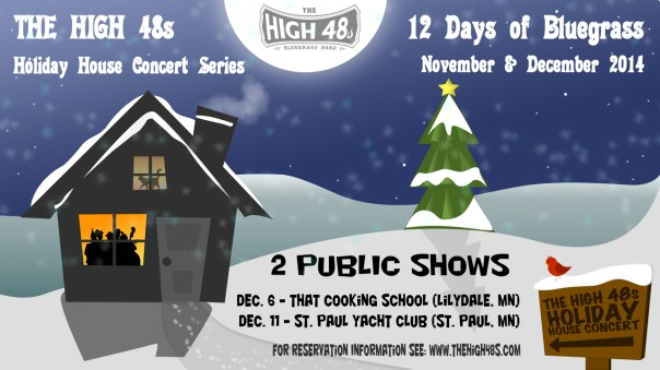 High 48s Public Holiday House ConcertIs 2014