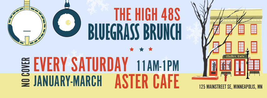 Bluegrass Brunch at the Aster Cafe