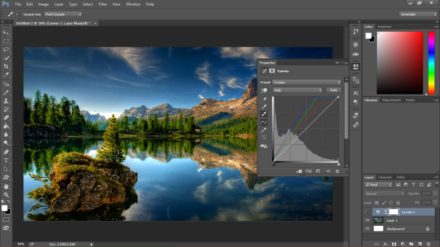 Photoshop CC Review Interface