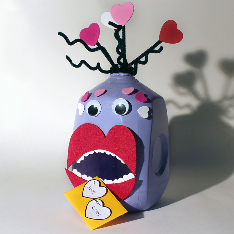 Love Monster Valentines Day Box The Hiland Home