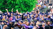 Howard University 2016 graduates during Howard's 148th Commencement May 7. (Photo Credit: Paul Holston/Editor-in-Chief/The Hilltop)