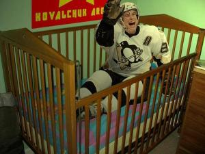Sidney Crosby crying about yet another call not going his way. Does someone need a nap?