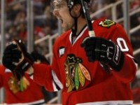 Patrick Sharp was activated for Sunday's game vs. the Kings