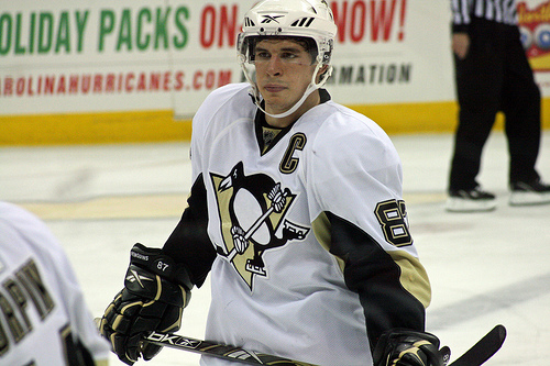 Sidney Crosby is slumping for the Penguins, but it's his mentality that's shaken, not his body.