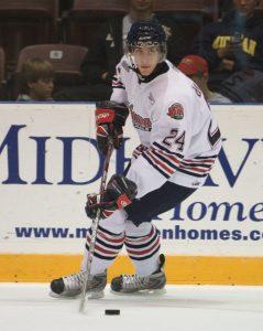 "Islanders Future ""QB"" Calvin de Haan #24 {Credit - Dustin Hall}"