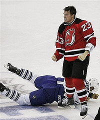 David Clarkson will be expected to do much more than just fight- Empty Netters - Flickr