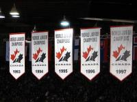 Team Canada Championship Banners (Dave O: Wikipedia Commons)