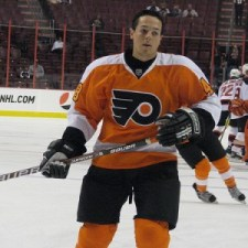 Danny Briere played well in the Flyers loss (Neat1325@flickr)