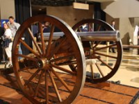 The Blue Jackets' Goal Cannon/Columbus Blue Jackets