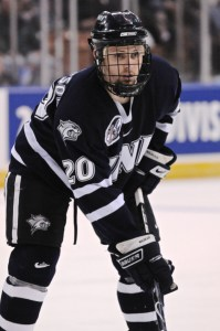 College Free Agent Paul Thompson signed with the Penguins last week (Icon SMI)