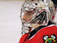 Corey Crawford of the Chicago Blackhawks (picture by Cheryl Adams/HockeyBroad)