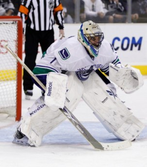 Roberto Luongo : MAR 05 Canucks at Kings