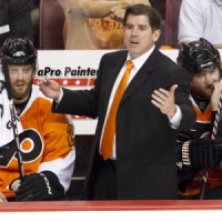 Peter Laviolette's team has played inconsistent but it's not all his fault. (Icon SMI)