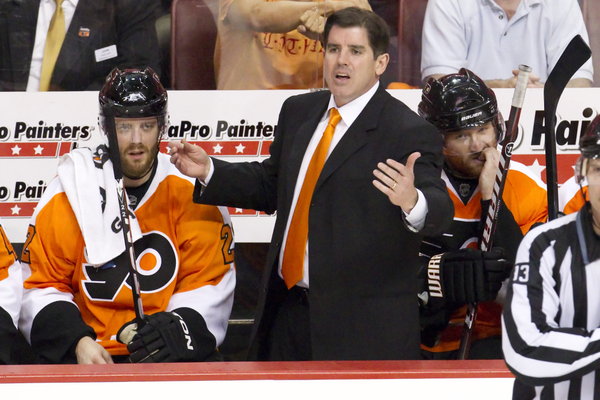 NHL Fastest Firing Head Coach Peter Laviolette (Icon SMI)