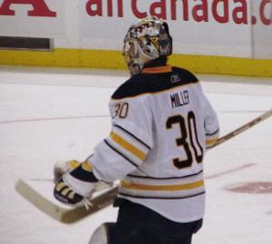 A healthy Ryan Miller could help the Buffalo Sabres upset the Flyers in Round One (Andrew Rodger THW)