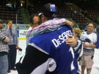 DeSerres brilliant in do-over, leads 'Dogs to Memorial Cup win