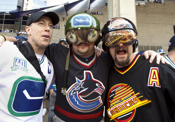(Canucks fans have reason to celebrate - Icon SMI)