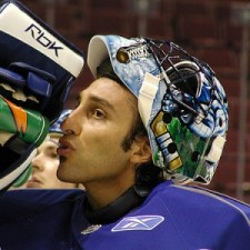 Roberto Luongo gets the nod Friday against Chicago