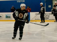 Ryan Spooner was one of the clear standouts at Dev. Camp. (Photo: Sarah Connors)