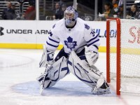 James Reimer has been the reason the Maple Leafs have pulled off a couple victories lately (Icon SMI)