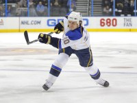 Steen left Saturday's game in the second period (Icon SMI)
