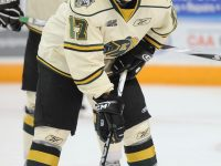 London Knight's Seth Griffith (Aaron Bell/CHL Images)