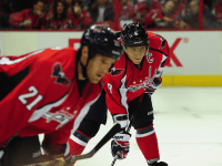 Alex Ovechkin, Brooks Laich, who defines the Washington Capitals? (Tom Turk/THW)