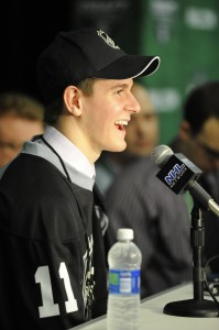 Scheifele signed with the Jets today as he takes the next step to the NHL (Aaron Bell/CHL Images)