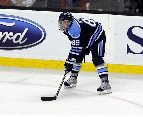 Gustav Nyquist, Maine Black Bears