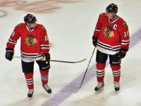 Patrick Kane Reunited with Jonathan Toews on the Blackhawks top line (The Extinciton Blues/Flickr)