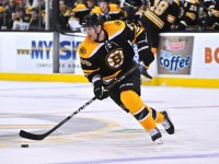 David Krejci had 50 assists but seemed to vanish in the playoffs for Boston.(Michael Tureski/Icon SMI)