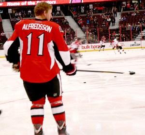 Daniel Alfredsson, Ottawa Senators