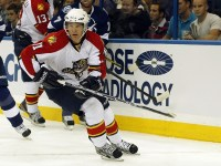 Jonathan Huberdeau is THW's 2013 Most Outstanding Rookie. (Cliff Welch/Icon SMI)