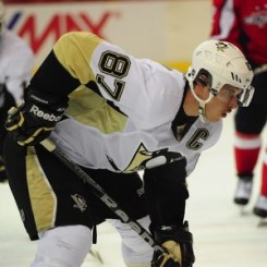 Sidney Crosby looks to return after being cleared for contact. (Tom Turk/THW)