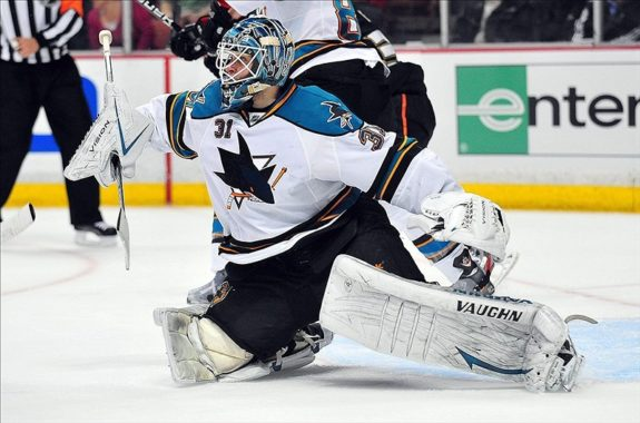 Sharks goalie